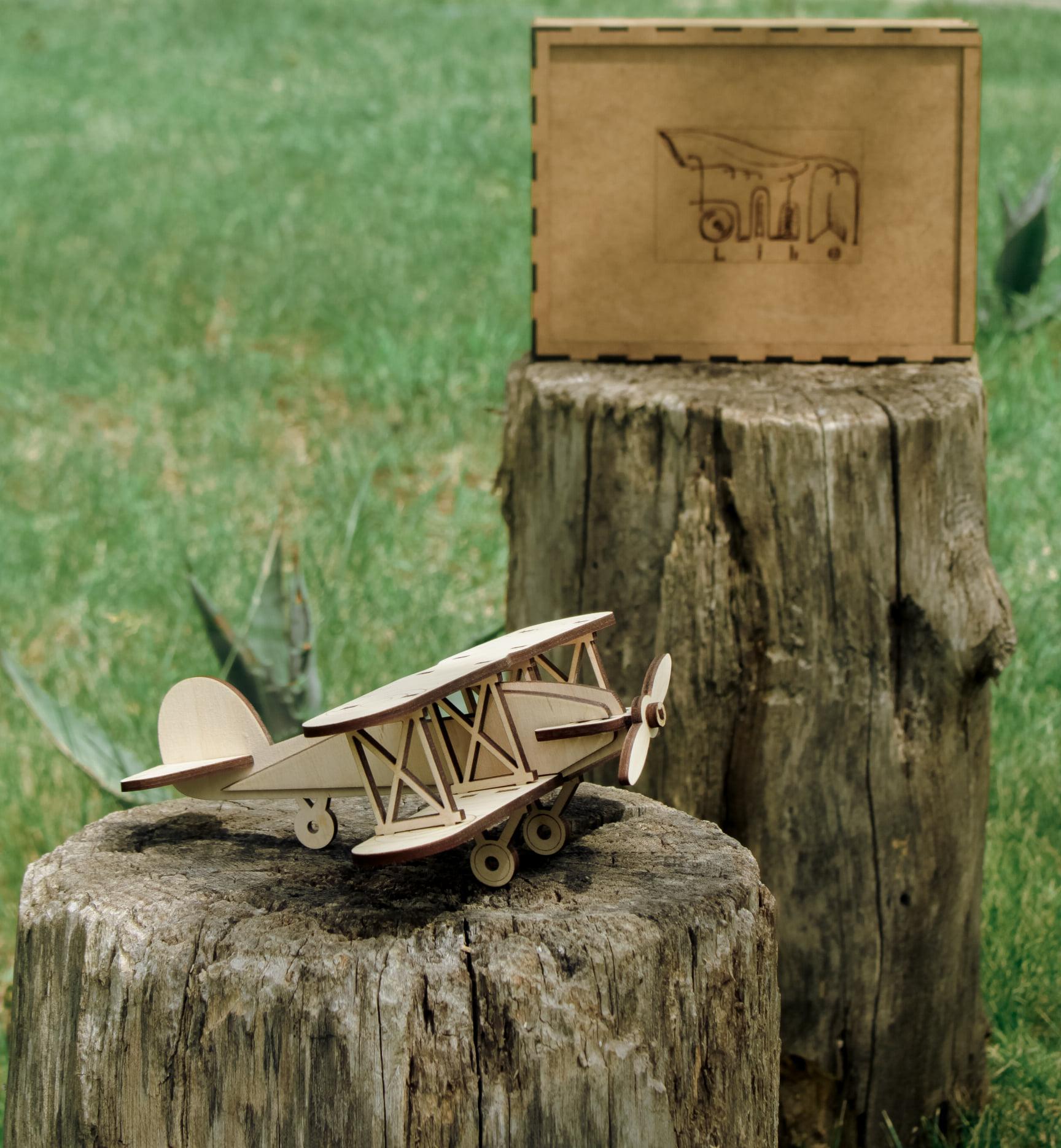 თვითმფრინავი, ასაწყობი პაზლი