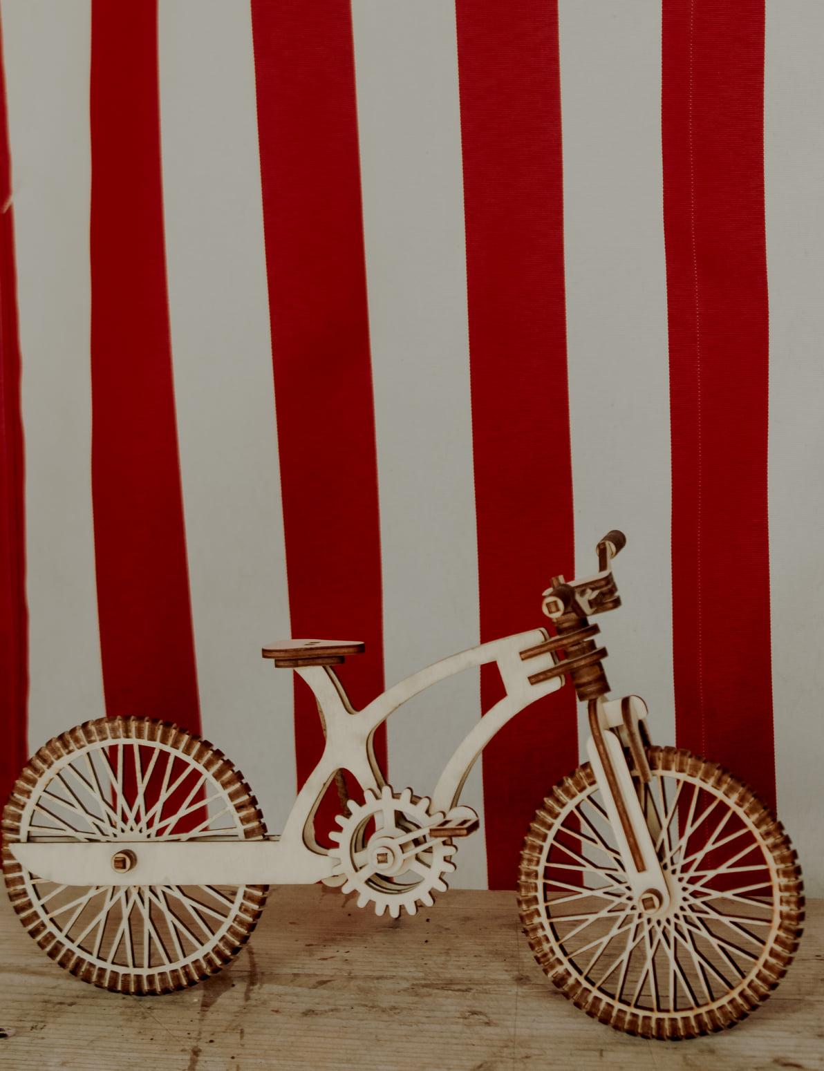 ველოსიპედი, ასაწყობი პაზლი